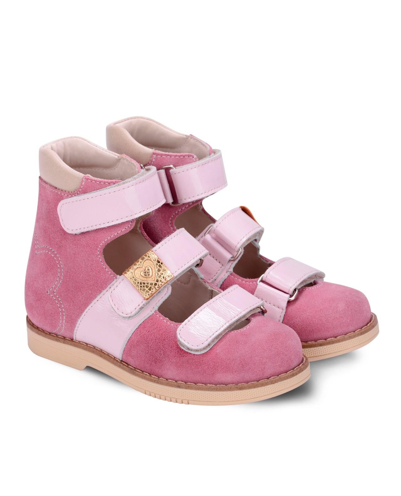 bb60ab582 Сандалии Детские, Tapiboo Кораллы розовый цвет, FT-25007.17-OL05O.01 ...