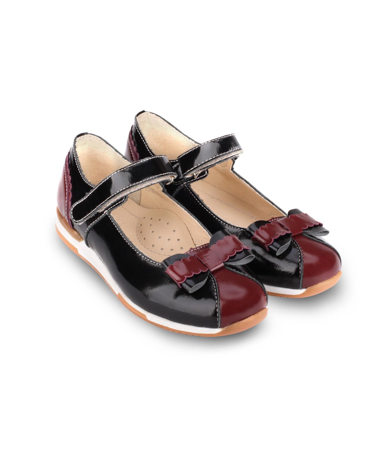 Туфли Детские, Tapiboo Твист (46656, 32 )Обувь для школы<br><br>Размер INT: M; Цвет: Красный; Ширина: 100; Высота: 200; Вес: 1000;