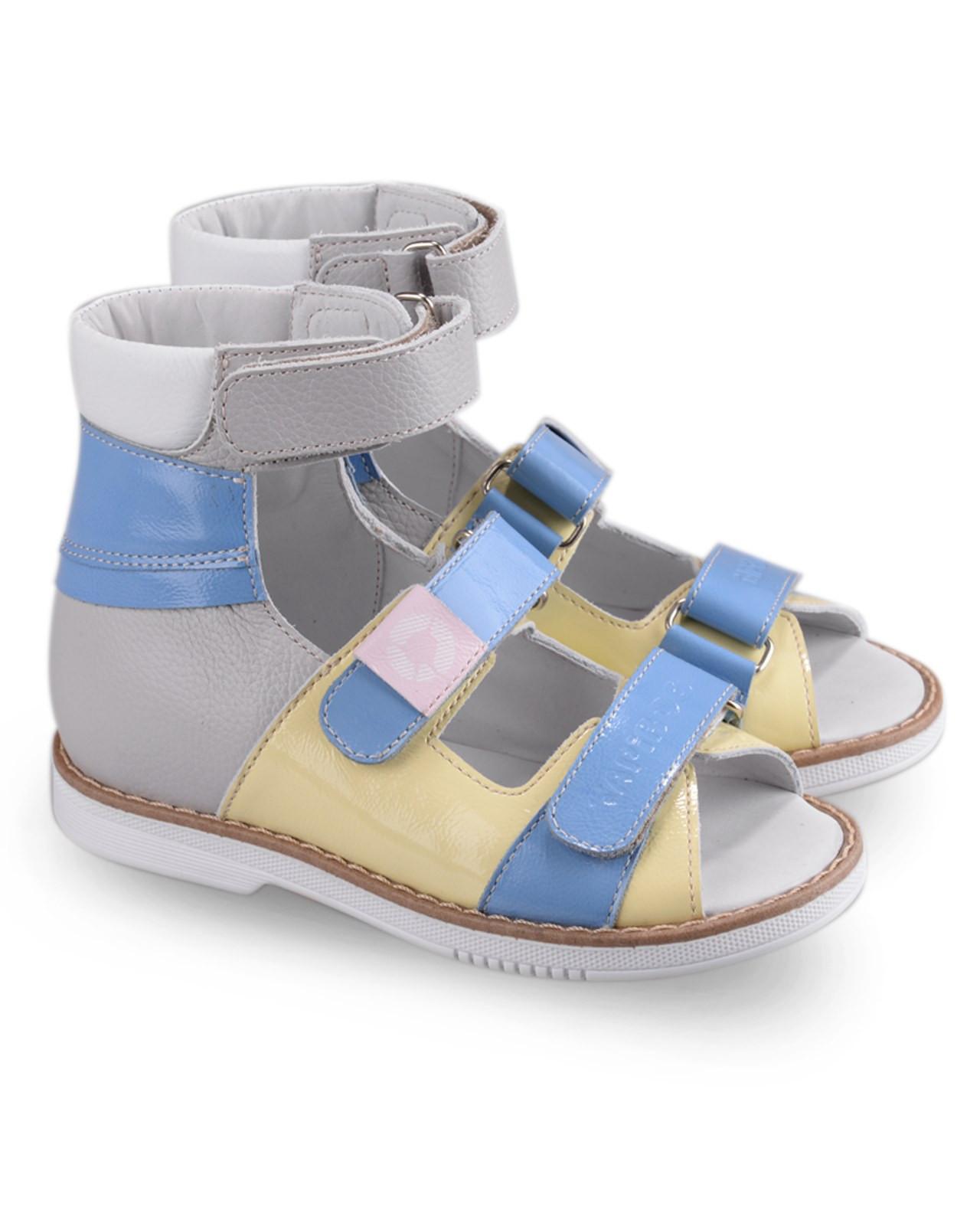 Сандалии Детские, Tapiboo Сладкая Вата (44078, Сандалии<br>Эти ортопедические сандалии разработаны <br>для коррекции стоп при вальгусной деформации, <br>а также для профилактики плоскостопия. <br>Применение данной модели рекомендовано <br>детям при наличии сформировавшихся деформаций. <br>При применении данной обуви рекомендуется <br>использование индивидуальных ортопедических <br>стелек по назначению врача-ортопеда. Жесткий <br>фиксирующий задник увеличенной высоты <br>и возможность регулировки полноты тремя <br>застежками «велкро» обеспечивают необходимую <br>фиксацию голеностопа в правильном положении. <br>Широкий, устойчивый каблук, специальной <br>конфигурации «каблук Томаса». Каблук продлен <br>с внутренней стороны до середины стопы, <br>предотвращает вращение (заваливание) стопы <br>вовнутрь (пронационный компонент деформации, <br>так называемая косолапость, или вальгусная <br>деформация). Подкладка из кожи теленка без <br>швов. Кожа теленка обладает повышенной <br>износостойкостью в сочетании с мягкостью <br>и отличной способностью пропускать воздух <br>для создания оптимального температурного <br>режима (нога не потеет). Отсутствие швов <br>на подкладк<br>Размер INT: M; Цвет: Красный; Ширина: 100; Высота: 200; Вес: 1000;