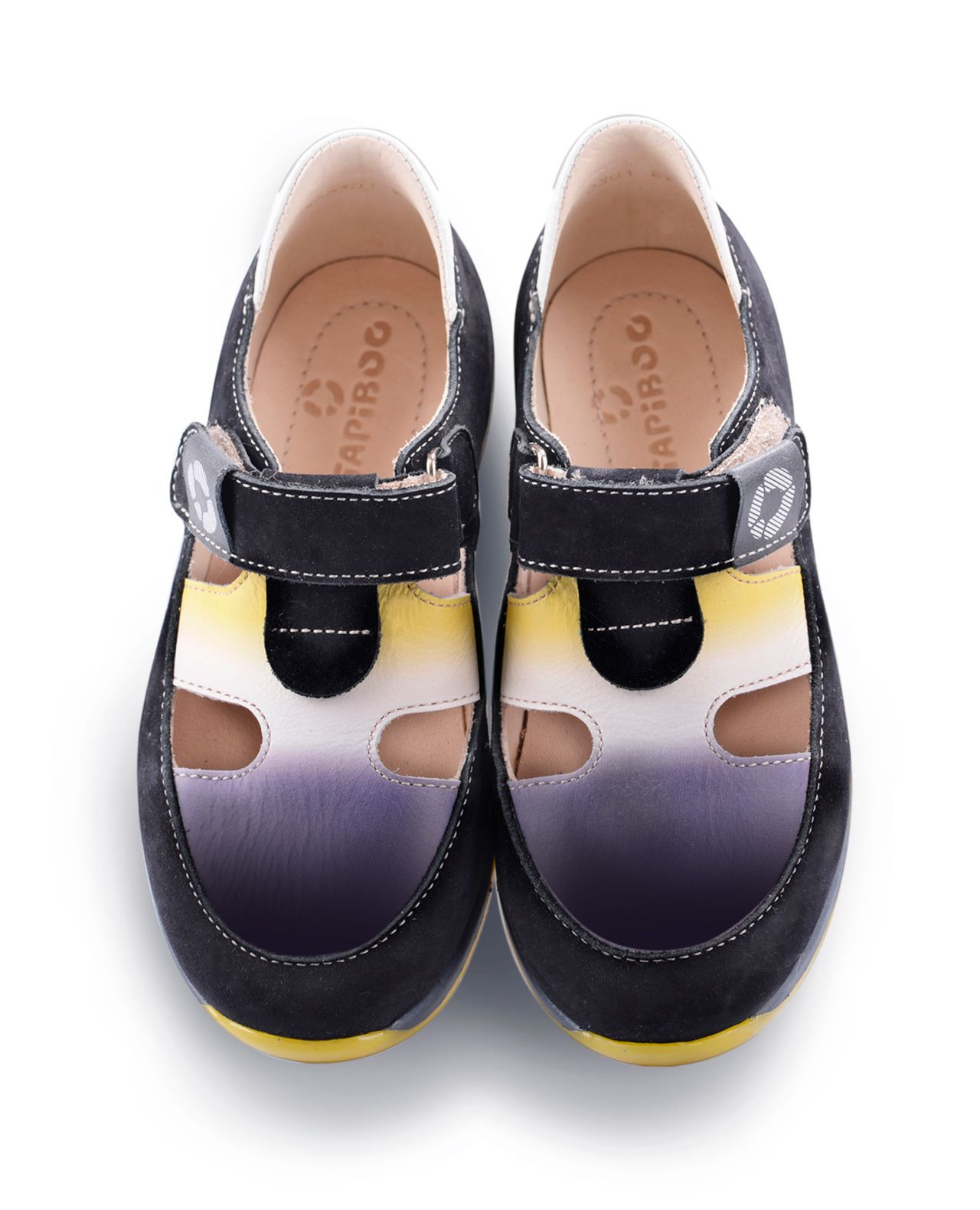 Купить Туфли Детские, Tapiboo Венге (43746, 33 ), Красный